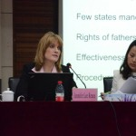 Jennifer Renne speaks on the legal background of Baby Safe Haven Law in USA