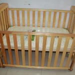 New baby crib and mattress