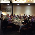 Dinner with China Staff 11/20/15