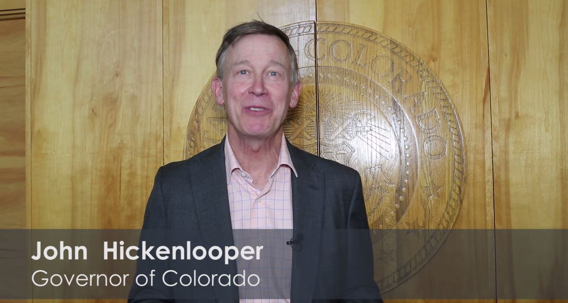 CO Governor John Hickenlooper