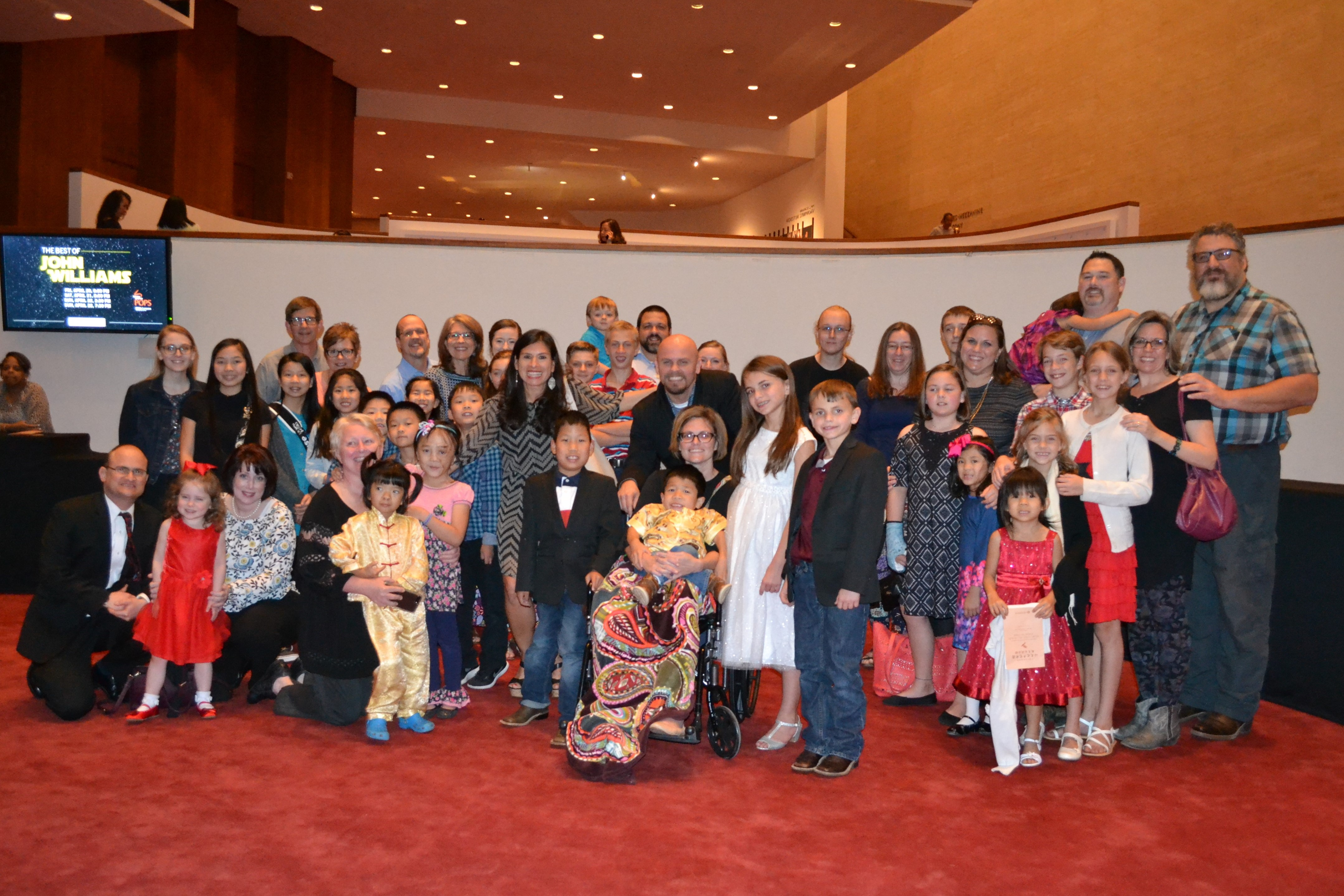 CCAI TX families with Consul General of China Ambassador Li