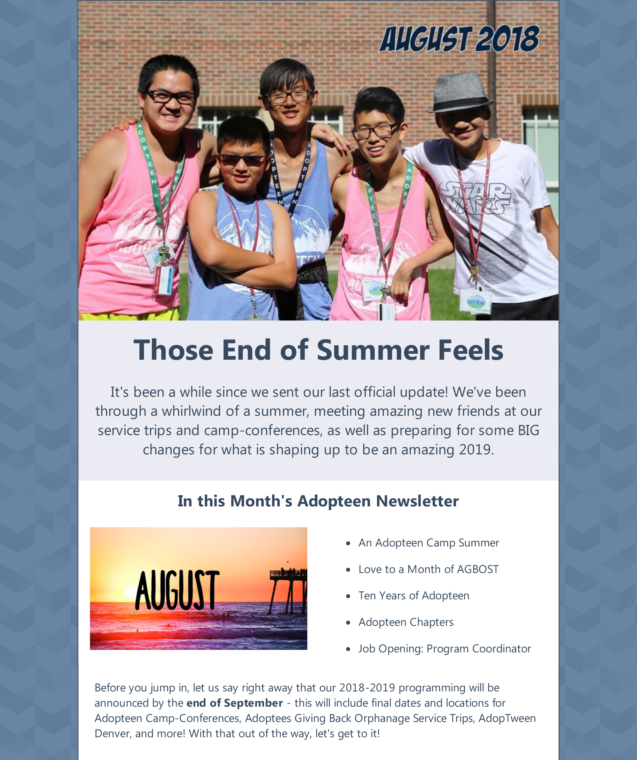 Adopteen August 2018 Newsletter-1