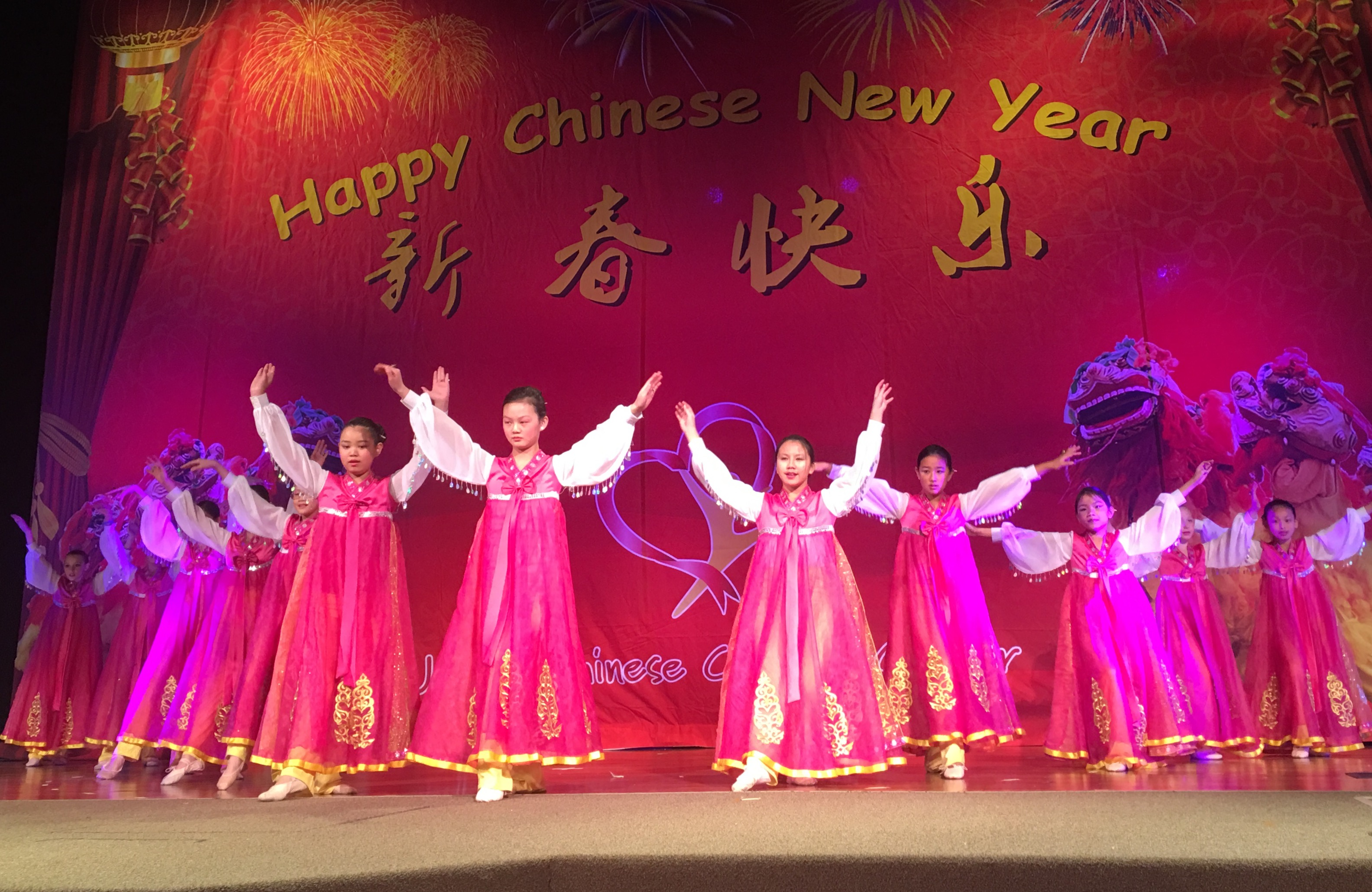 Chinese Level Bells Dance