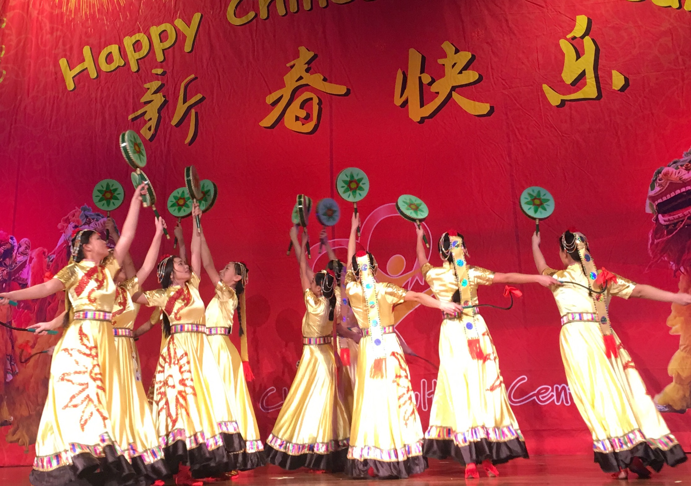 Chinese Level 13-17 Sun Drums Dance
